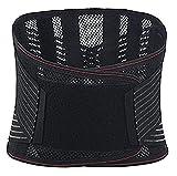 Cinturón De Soporte Lumbar Transpirable Y Ultra Delgado,Protector De Cintura De Soporte De Placa De Acero,Cintura para Adelgazamiento Sexy De Cintura para Adelgazar Cinturón De Calor (Size : XXL)