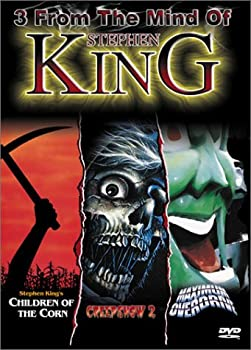 3 from the Mind of Stephen King  Children of the Corn / Creepshow 2 / Maximum Overdrive