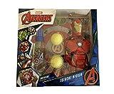 Avengers Marvel Iron Man Estuche Edt 90 Ml,Figura Gel 350 Ml, Bolas & Diana 600 g