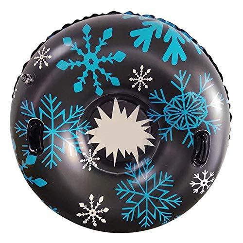 YEHEI Tubo De Nieve Inflable con Mango Círculo De Esquí De Nieve Duradero Deportes Al Aire Libre De Invierno Niños Adultos Círculo De Esquí Engrosado
