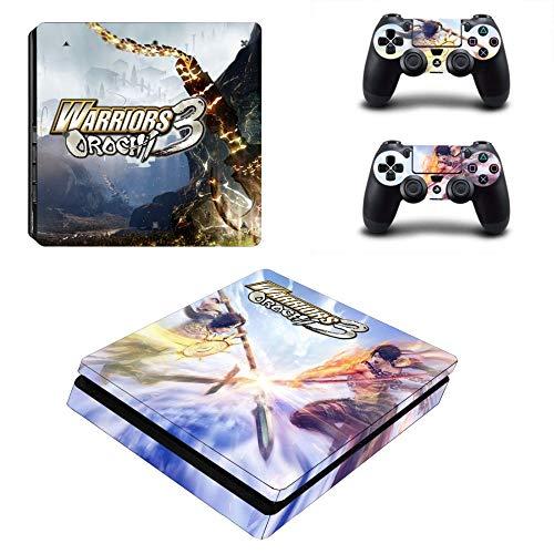 WANGPENG Warriors Orochi 3 Ps4 Slim Skin Pegatina para Playstation 4 Consola Y 2 Controlador Skin Ps4 Slim Skin Pegatina Vinilo