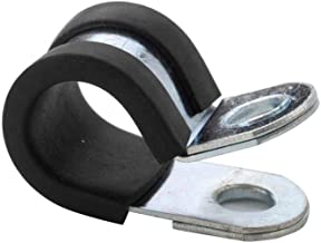 Solarson 20 Pack 3/8 Inch(10mm) Stainless Steel Cable Clamp, Rubber Cushioned Insulated..