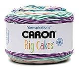 Caron Big Cakes Self Striping Yarn 603 yd/551 m 10.5oz/300 g (Boysenberry) (Boysenberry)