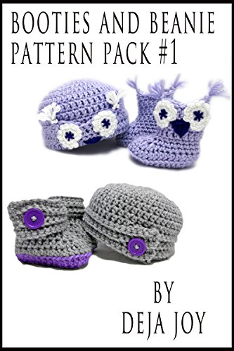 Booties and Beanie Pattern Pack #1 (English Edition)