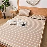 Aralinda Colchón de verano de refrigeración, lavable con funda de almohada, alfombrilla de refrigeración suave para el...