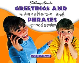 Greetings and Phrases / Saludos Y Frases (Talking Hands) (English and Spanish Edition)