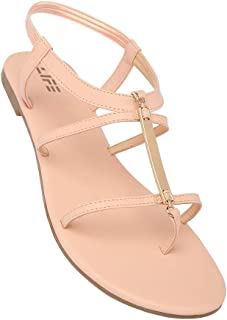 Life by Shoppers Stop Womens Casual Wear Slip On Sandals_Pink