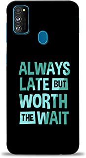 PRINT STATION Printed Back Case Cover for Samsung Galaxy M30s - 6629