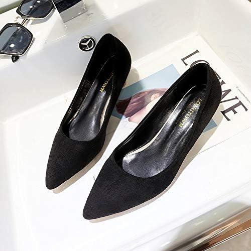 HOESCZS Tacones Altos Nuevos zapatos De mujer De Boca Baja En Punta zapatos De Tacón Alto para mujer zapatos De Trabajo Femeninos OL Commuter