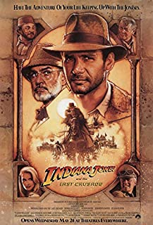 Indiana Jones And The Last Crusade - Movie Poster (Size: 27'' x 40'')
