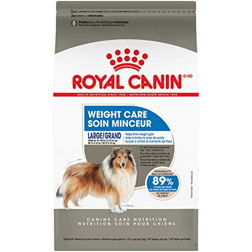 Royal Canin Large Weight Care Dry Dog Food, 30 lb. bag