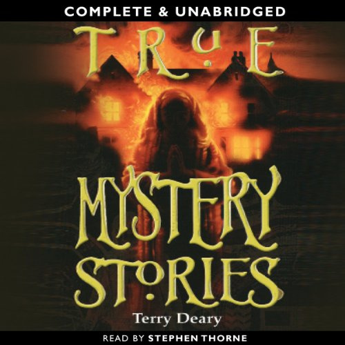 True Mystery Stories audiobook cover art