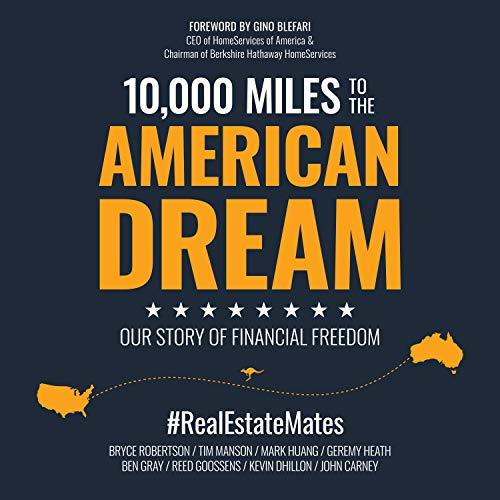 10,000 Miles to the American Dream cover art