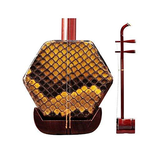 Erhu, Palisander Erhu, reine handgemachte Hexagonal Erhu, gemeinsame ethnische Orchesterinstrumente for Erwachsene und Kinder (Farbe: Palisander) DUZG (Color : Rosewood)