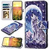 Robinsoni Custodia Compatibile con Samsung Galaxy A60 Cover Libretto Magnetica Cover Porta...