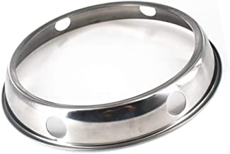 QHTY Wok Ring,7.8Inch and 9Inch Reversible Size Stainless Steel Wok Rack,Suitable for All Round Bottom Woks of Kitchen