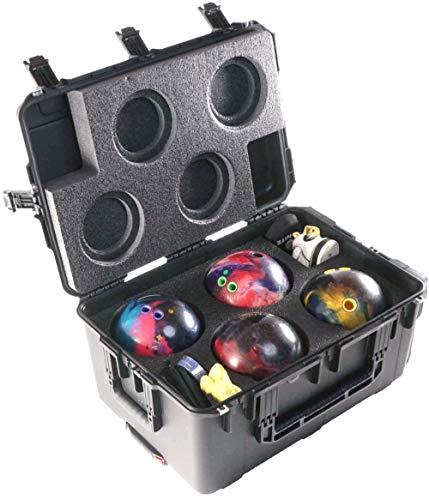 Case Club Bowling Ball Heavy Duty Case with Wheels (4 Ball)