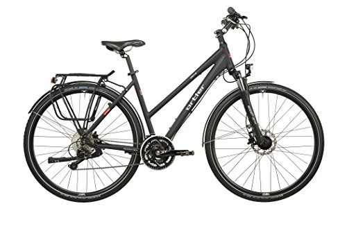 Ortler Ardeche Damen schwarz matt Rahmengröße 45 cm 2016 Trekkingrad