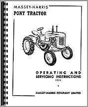 Massey Harris Pony Tractor Operators Manual