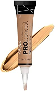 L.A. Girl Pro Conceal HD Concealer,0.28 Ounce (Warm Honey)