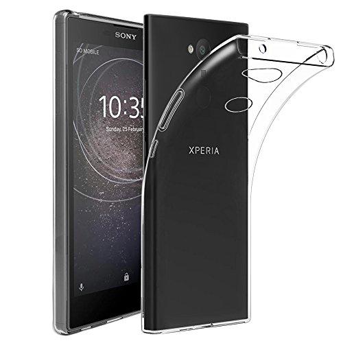 ebestStar - Cover Compatibile con Sony Xperia L2, L2 Dual (2018) Custodia Trasparente Silicone Gel TPU Protezione Morbida e Sottile, Trasparente [Apparecchio: 150 x 78 x 9.8mm, 5.5'']