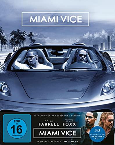 Miami Vice - Director's 15th Anniversary Edition (Mediabook A, 2 Blu-rays) (exklusiv Amazon)