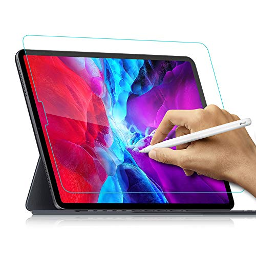Like Paper Screen Protector Compatible With iPad Pro 11 Inch (2018 and 2020 Model) Matte PET Film for Drawing No Glare and Paper Texture iPad Pro 11 Screen Protector, Compatible Apple Pencil