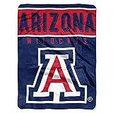 The Northwest Company Arizona Wildcats 'Basic' Raschel Throw Blanket, 60' x 80' , Blue