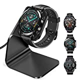 CAVN Ladegerät Kompatibel mit Huawei Watch GT/GT 2 /GT 2e /Honor Magic Watch 2 Ladestation, (130cm/4.2ft) USB Aluminium Ladekabel Schnellladegerät Lade Dock für gt/gt 2/gt 2e/Magic Watch...
