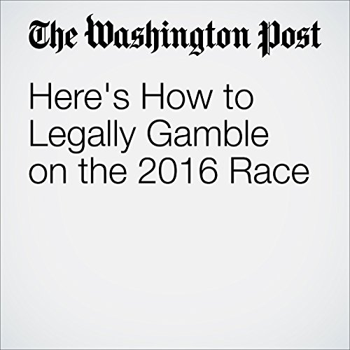 Here's How to Legally Gamble on the 2016 Race cover art