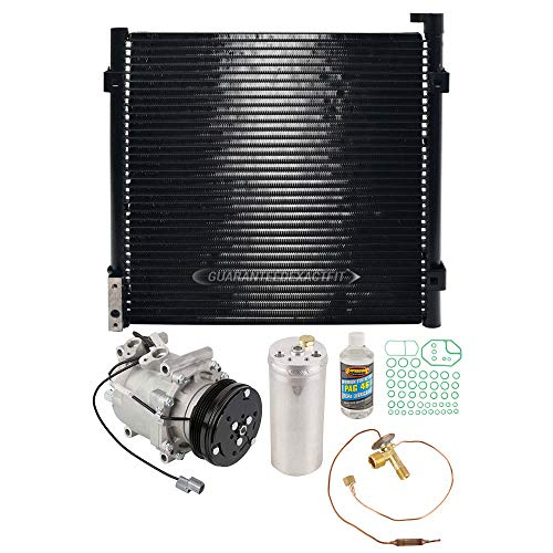 For Honda Civic 1996-2000 A/C Kit w/AC Compressor Condenser & Drier - BuyAutoParts 60-82398CK New