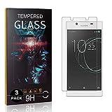 Bear Village® Displayschutzfolie für Sony Xperia L1 / E6, Kratzfest Schutzfolie aus Gehärtetem Glas für Sony Xperia L1 / E6, Einfache Installation, 99% Transparenz, 3 Stück -