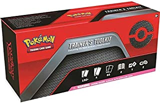Pokemon TCG Trainers Toolkit Box - 4 Booster Packs, 65 Sleeves, Trainers, GX's and More!