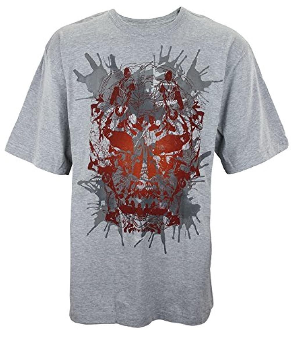 Nike Mens Litho Skull Hoops T-Shirt