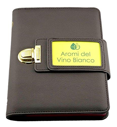 Kit Aromi del Vino Bianco - 12 Aromi (incl. Ruota degli Aromi del Vino)