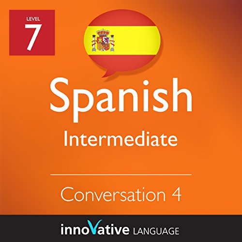 Intermediate Conversation #4 (Spanish)  audiobook cover art
