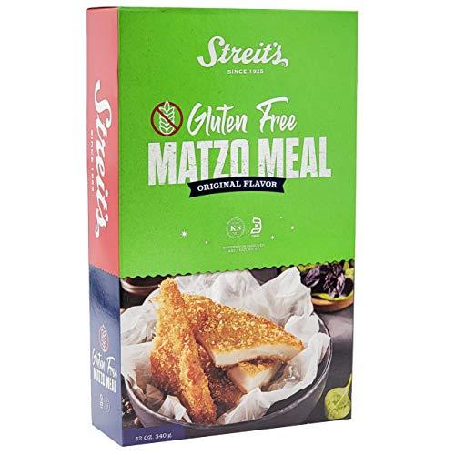 Streits Original Gluten Free Matzo Meal, Kosher for Passover 12 Oz (Single)