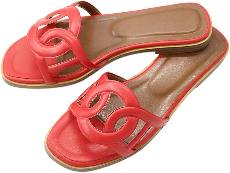 MERUMOTE Women's Flats Comfortable Summer Open Toe Casual Flip Flop Slippers