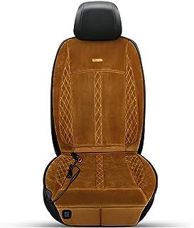 Cojín de masaje de coche Cojín de calefacción del coche asiento único de invierno asiento del asiento universal cojín de calefacción eléctrica DC12V / 24V Protección automática de fallo de alimentació