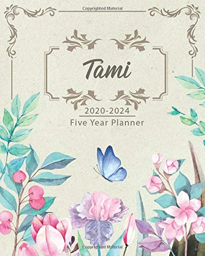 TAMI 2020-2024 Five Year Planner: Monthly Planner 5 Years January - December 2020-2024   Monthly View   Calendar Views   Habit Tracker - Sunday Start
