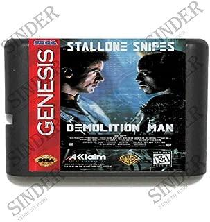 Value★Smart★Toys - Demolition Man 16 bit MD Game Card for Sega Mega Drive for Genesis