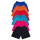 Pack of 6 Shorts Fabric: Cotton Pair it up with T-Shirt or hoody for complete look Casual Shorts perfect for every occasion Soft & Comfortable