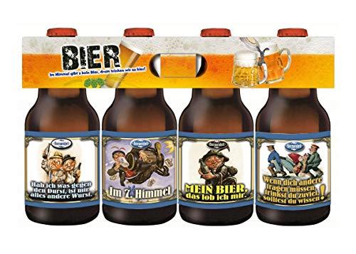 Bierweisheiten das Bier im 4-er Träger