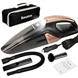 Banaton Car Vacuum Cleaner 5000PA 106W 12V Car Vacuum with LED Light Low Noise Wet...