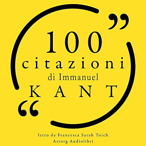 100 citazioni di Immanuel Kant Titelbild