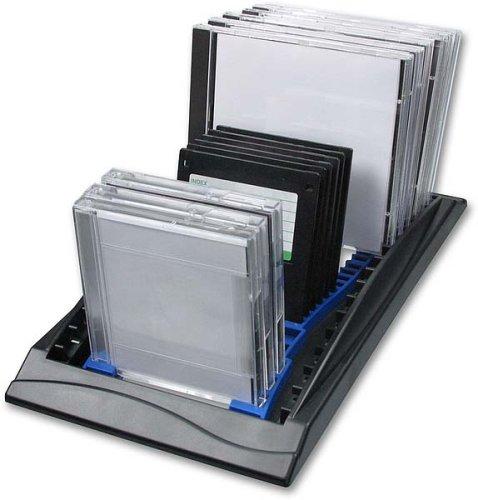 Speedlink Combo Rack (zur Aufbewahrung von CD, DVD, ZIP, Disketten, Floppy-Disc)