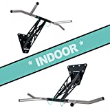 PULLUP & DIP Indoor & Outdoor Pull-up bar (Indoor Package (Wall mounting))