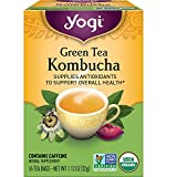 Yogi Tea - Green Tea Kombucha (6 Pack) - Supplies...
