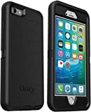 OtterBox Defender Series Rugged Case for iPhone 6s Plus & iPhone 6 Plus - Case Only - Non-Retail Packaging - Black - with Microbial Defense