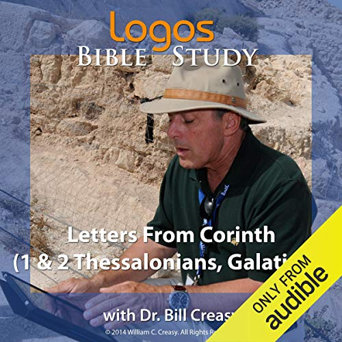 Letters from Corinth (1 & 2 Thessalonians, Galatians) cover art